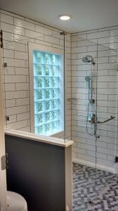 Arwady showers