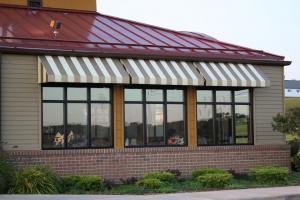 restaurant glass windows